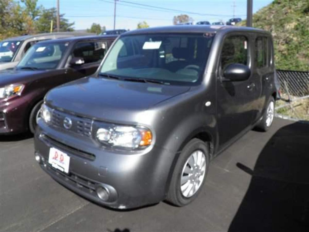 2009 GRAY NISSAN CUBE (JN8AZ28R39T) with an 4 engine, 5SP transmission, located at 15520 McMullen Hwy SW, Belair, MD, 21502, (301) 729-3700, 39.581375, -78.846451 - Photo #0