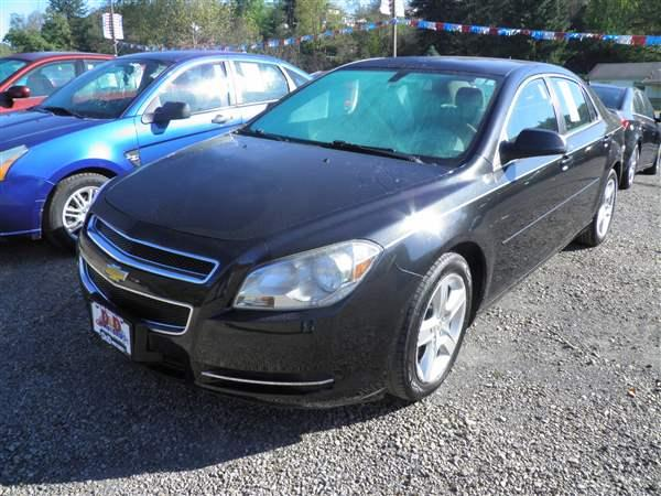2011 BLACK CHEVROLET MALIBU (1G1ZB5E10BF) with an 4 engine, AT transmission, located at 19521 New George's Creek Rd SW, Barton, MD, 21521, (301) 463-2404, 39.524323, -79.017906 - Photo #0